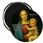 "Raphael Madonna Painting 2.25"" Magnet (10 pack)"