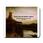Rembrandt Painting & Quote Mousepad