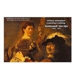 Art & Atmosphere Rembrandt Postcards (Package of 8