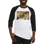 Renoir Quote and Landscape Baseball Jersey