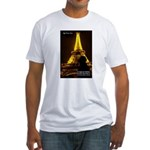 Art Architecture Eiffel Tower Fitted T-Shirt