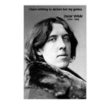Playwright Oscar Wilde Postcards (Package of 8)